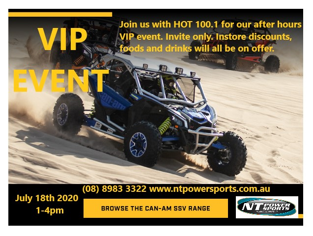NT POWERSPORTS VIP EVENT with HOT 100.1